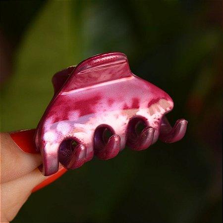 Piranha de cabelo francesa Finestra tie dye rosa N313MR