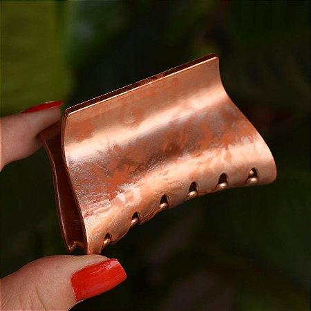 Piranha de cabelo francesa Finestra tie dye laranja F22875MC