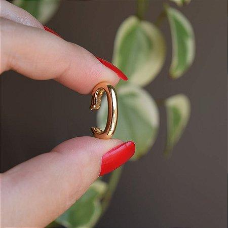 Piercing de encaixe indivual p ouro semijoia