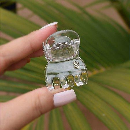 Piranha de cabelo Bianca acrílico transparente 05 171