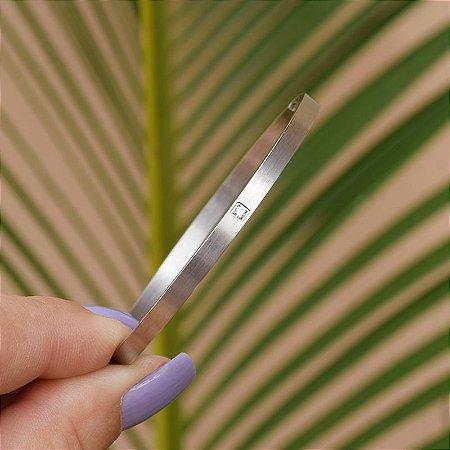 Bracelete zirconia aço inoxidável 24 0079