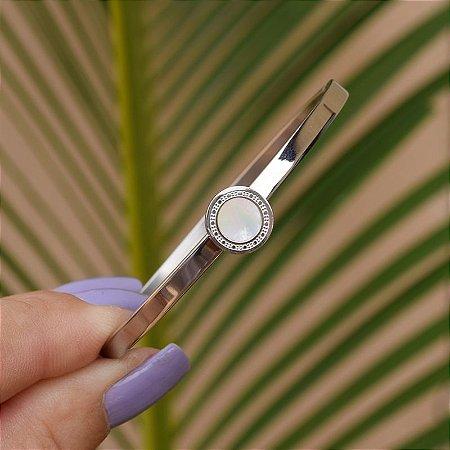 Bracelete madrepérola aço inoxidável 24 0082