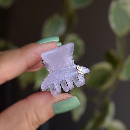 Piranha de cabelo Bianca acrílico lilás 05 152