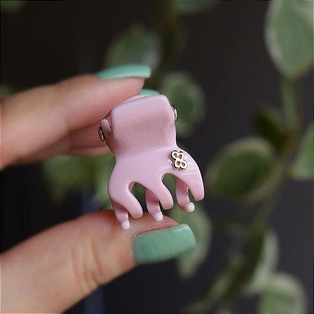Piranha de cabelo Bianca acrilíco rosa 05 206