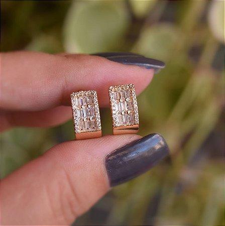 Piercing de encaixe par zircônia ouro semijoia 19k07062