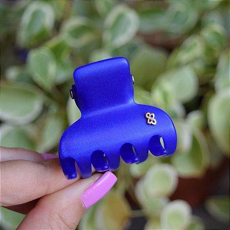 Piranha de cabelo Bianca acrílico azul royal fosco 05 067