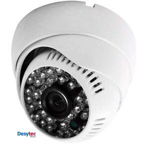 Câmera HD 720p  10m de Infravermelho Dome, para ambiente interno