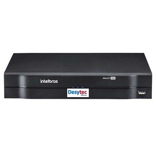DVR Intelbras MHDX 1116 Multi HD de 16 Canais 1080p Lite + 2 Canais 6Mp IP
