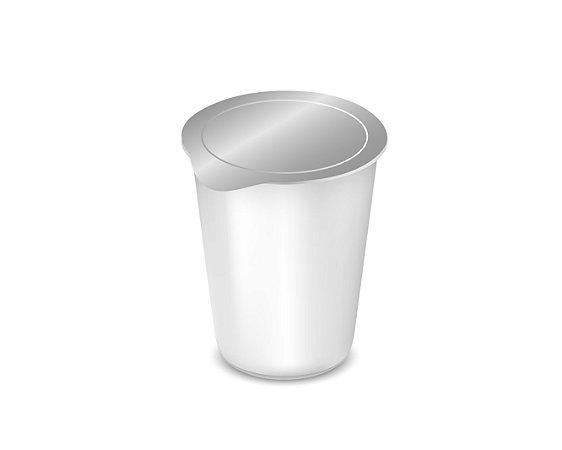 Selos de alumínio 75 mm para copos - 1.000 unidades