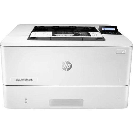 Impressora PB com Rede e Frente e Verso Automático - HP M404DW