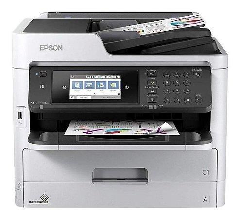 Impressora Multifuncional Colorida com Rede e Frente e Verso Automático - WF5790