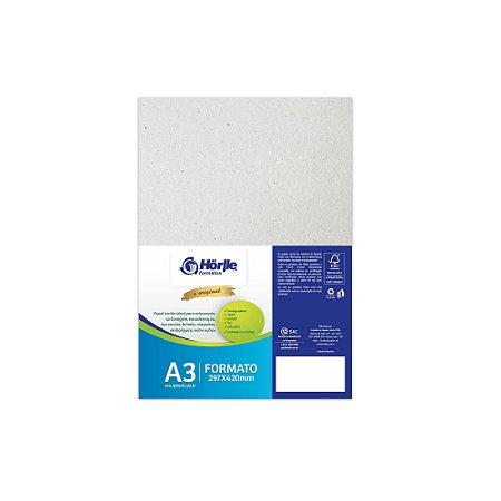 Cartão Cinza H - Medida A3 - Pacote 10 unidades