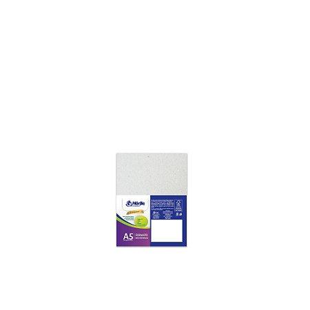 Cartão Cinza H - Medida A5 - Pacote 10 unidades