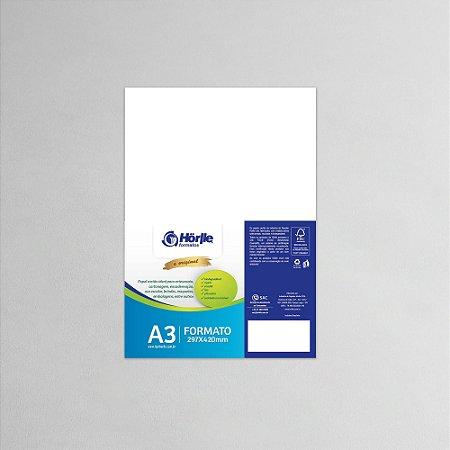Cartão Capa Branca - Medida A3 - Pacote 10 unidades
