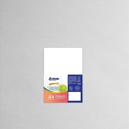 Cartão Capa Branca - Medida A4 - Pacote 10 unidades