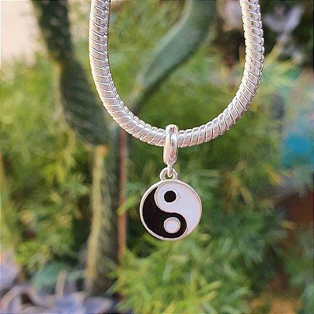 Berloque medalhinha Yin-yang