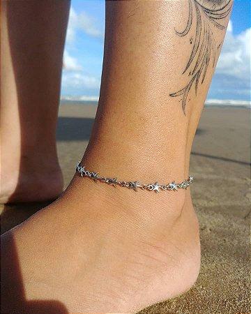 Tornozeleira estrela-do-mar