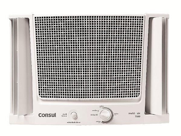 Ar condicionado janela 7500 btus Consul frio com filtro fácil de limpar