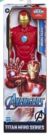 Boneco Avengers F12 Titan Hero Iron Man Hasbro