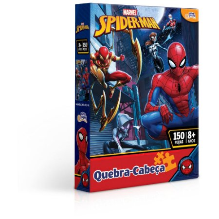 Quebra Cabeça Homem Aranha 150 peças Toyster