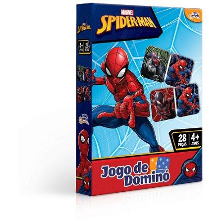 Jogo de Dominó Homem Aranha 28 peças Toyster