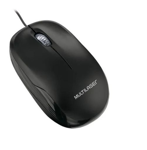 Mouse Multilaser Office MO255 Preto