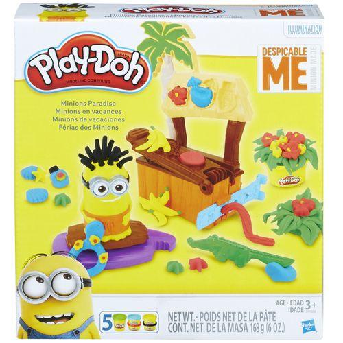Massinhas Play-Doh Paraíso dos Minions Hasbro