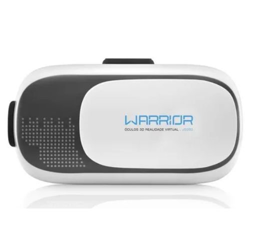 Oculos Realidade Virtual 3D Gamer Warrior - JS080 Multilaser