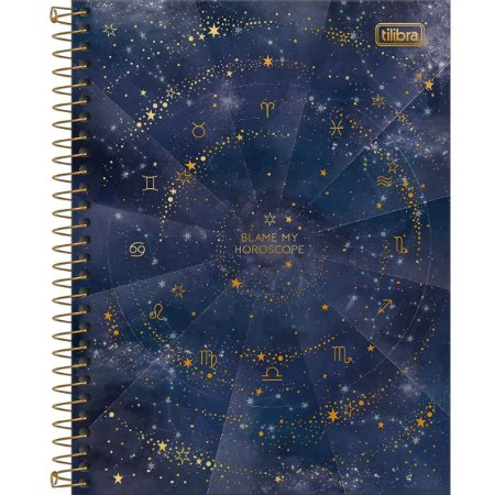 Caderno Espiral Colegial Magic 10 Matérias 160fls Tilibra