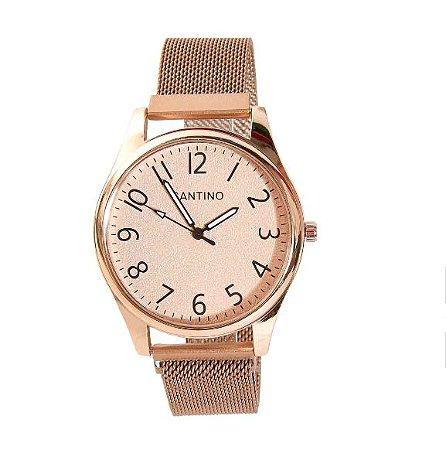 Relógio Quartz Dourado R.SAR10U34 Santino
