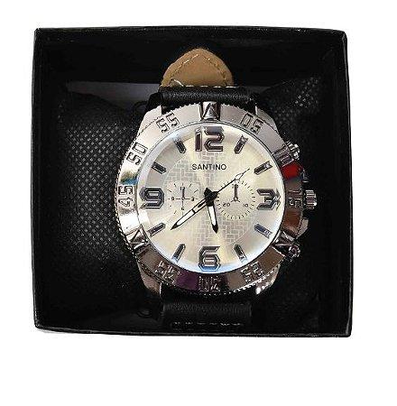 Relógio Quartz Masculino Santino R.SAR8U42