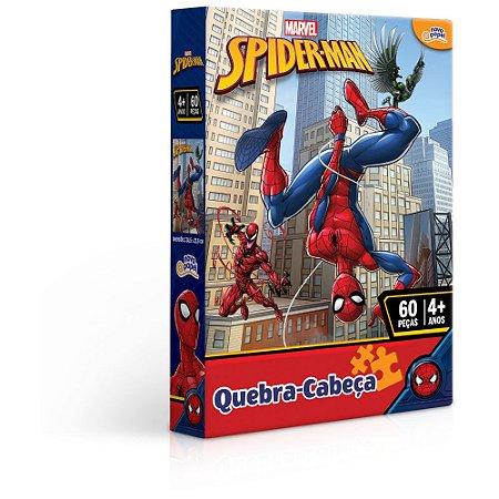 Quebra Cabeça Homem Aranha 60 Peças Toyster