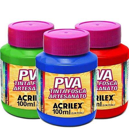 Tinta PVA Fosca 100ml Acrilex