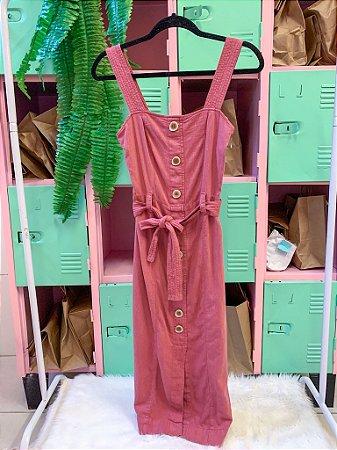 Vestido Rosa Antique PP