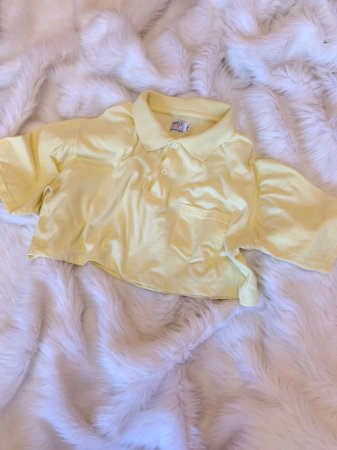 Cropped Yellow M