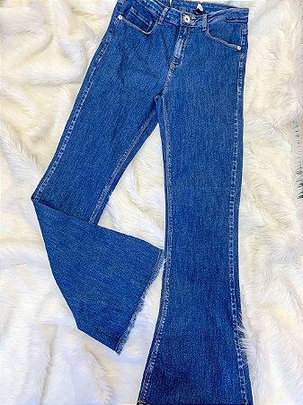 Calça Jeans Flare Nova 40
