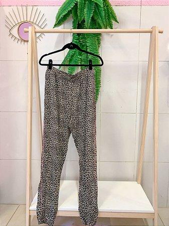 Calça Leopardo Nova GG