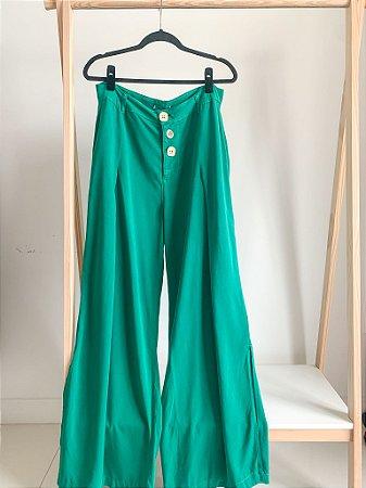 Calça Pantalona Folha 46