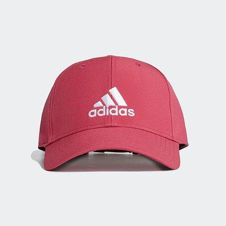 Boné Baseball Leve Bordado Adidas - Rosa