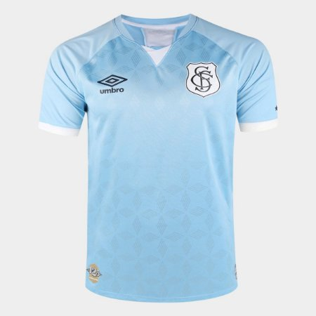 Camisa Santos III 20/21 s/n° Torcedor Umbro Masculina - Azul+Branco
