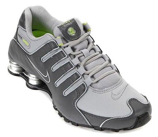 """Tenis Nike Shox Nz Cinza """"Tam 43"""""""
