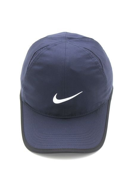 BONE NIKE FEATHERLIGHT CAP UNICO MARINHO