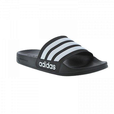 Chinelo Adidas Cf Adlette Preto/branco