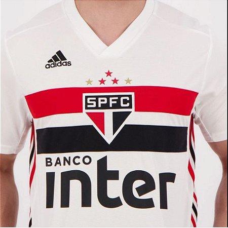 CAMISA ADIDAS SÃO PAULO I BRANCO