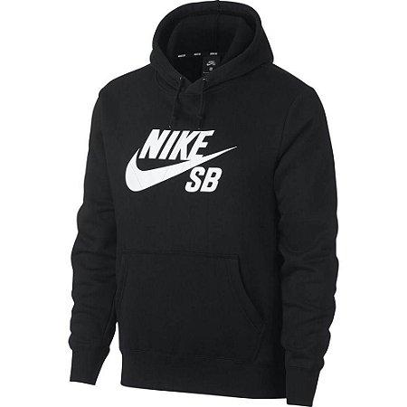 Moletom Nike SB Icon Hoodie Preto Masculino