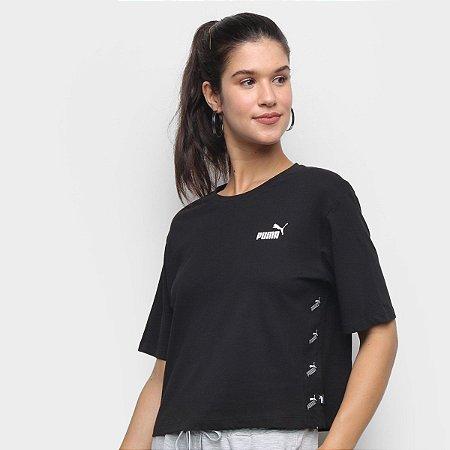 Camiseta Puma Amplified Feminina Preta