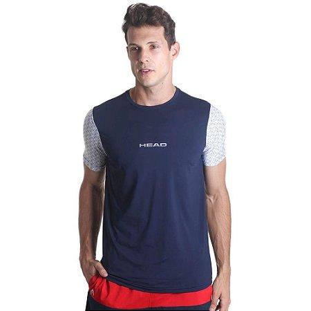 Camiseta Masculina Com Mangas Sublimadas Head