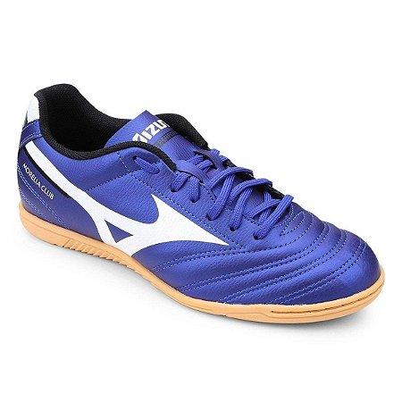 Chuteira Mizuno Morelia Club Futsal Azul