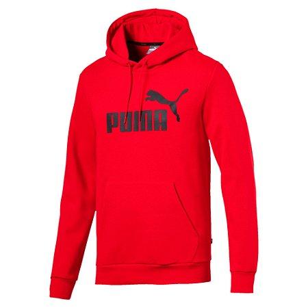Moletom Puma Essentials Fleece Masculino Vermelho