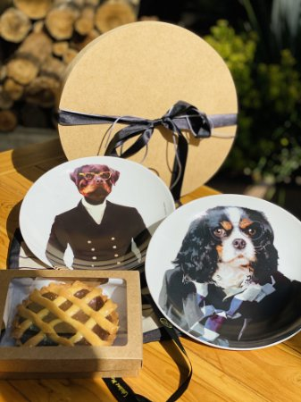 Conjunto Dogs + Chocolate Pie